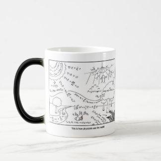 Tasse als Physiker sehen die Welt - [RECHTSHÄNDIG]