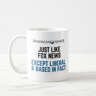 Tasse, amerikanische Nachrichten X Kaffeetasse