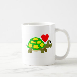 Tasse d'amour de tortue