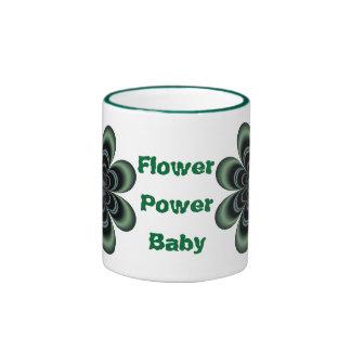 Tasse de bébé de flower power