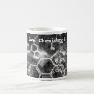 Tasse de café - chimie d'amour