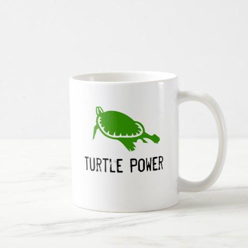 Tasse de puissance de tortue