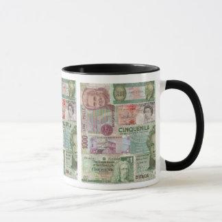 Tasse der ausländischen Währung