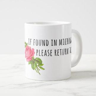 Tasse der Mutter Tages- mit Blumen Jumbo-Mug