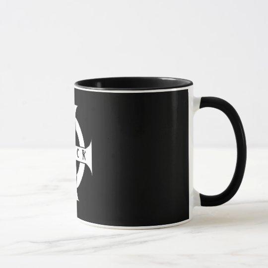 Tasse des SCHWARZEN Kaffees