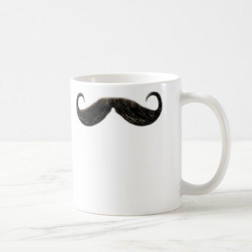 tasse drôle de moustache