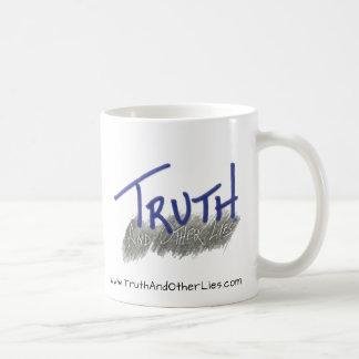 Tasse, eingebrannt, Wahrheit und anderes Lies™ Kaffeetasse