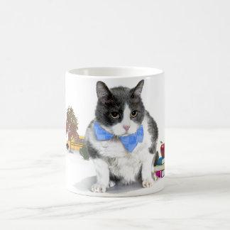 Tasse: Felix, die Katze, im Sept. Kaffeetasse
