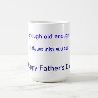 Tasse für den Vatertag