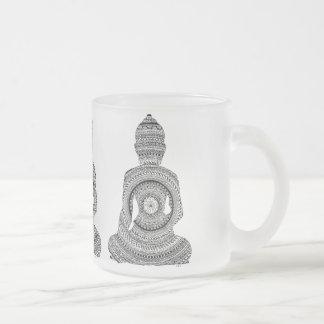 Tasse Glas Buddha GraphiZen