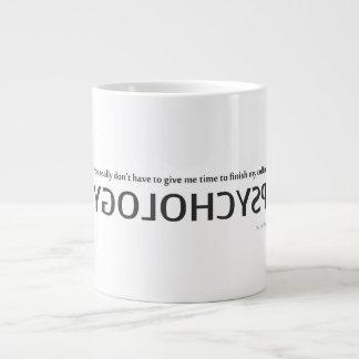 Tasse Kaffee und die Zeit, ihn herein zu trinken
