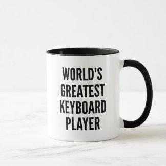Tasse Le plus grand joueur de clavier des mondes