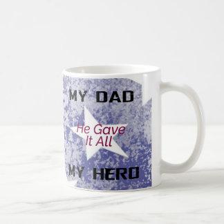 Tasse - mein Vati mein Held