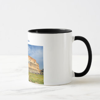 Tasse mit Colosseum in Rom