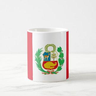 Tasse mit Flagge von Peru