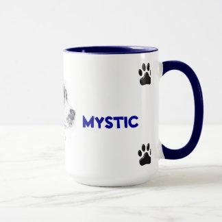 Tasse mit Mischzuchthund