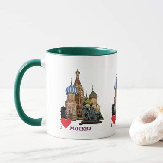 Tasse Moskau Russland Russia