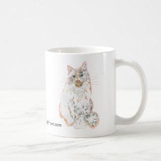 Tasse Prinzen Robin Cat Collage