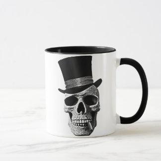 Tasse Top hat skull