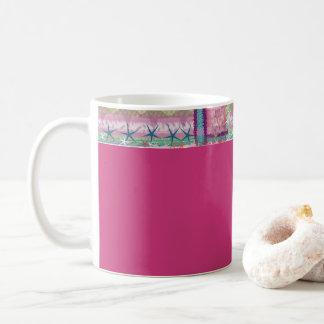 Tassen-Fantasie Rosa Kaffeetasse