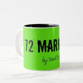 Tassen-Gewohnheit des Kaffee-72marketing Zweifarbige Tasse