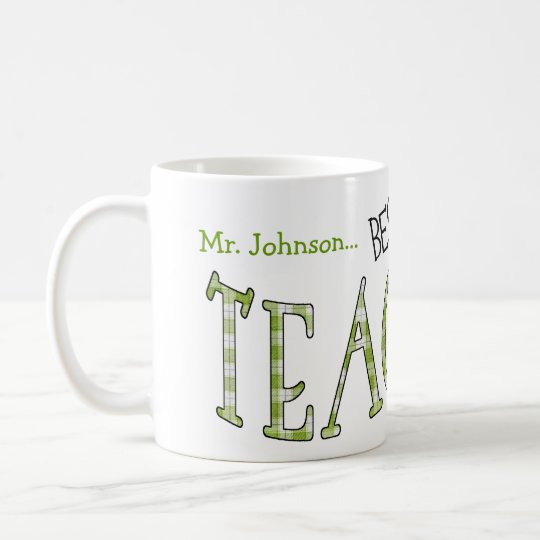 Tassengeschenk für den Lehrer Ihr Kindes Tasse