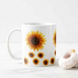 Tassensonnenblumen Kaffeetasse
