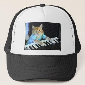 Tastatur-Katzen-Hut Truckerkappe