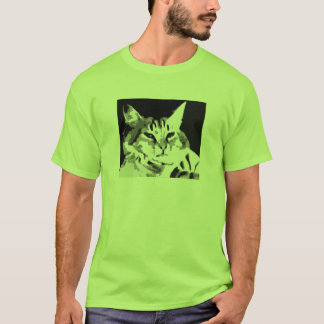 Tastaturkatzen-Gesichts-Shirt T-Shirt