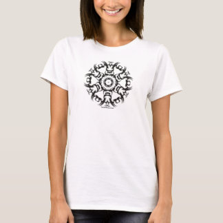 Tatoo Blumen-T - Shirt