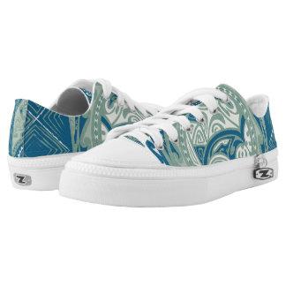 Tatou V - Bora Bora Lagune kundenspezifische Zipz Niedrig-geschnittene Sneaker