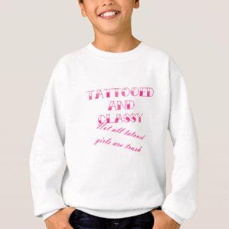 Tätowiert und nobel sweatshirt