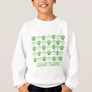 Tatze durch Tatzealaskischen Malamute Sweatshirt