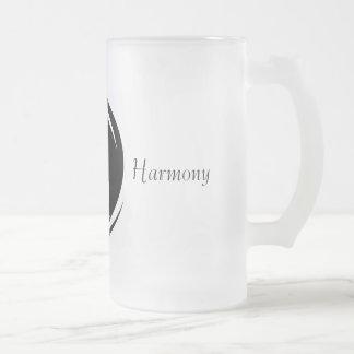 Tatze-fect Harmonie-Tasse Matte Glastasse