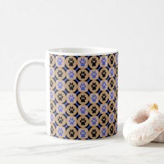 Tatze-für-Kaffee Tasse (Kobalt)