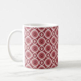 Tatze-für-Kaffee Tasse (Zimt)