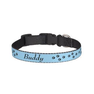 Tatzen-Druck-Hundehalsband Leine