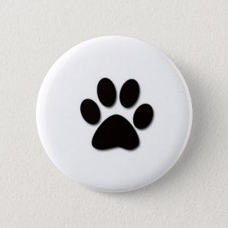 Tatzen-Druck-Knopf Runder Button 5,1 Cm