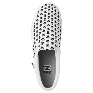 Tatzen-Druck-Muster Beleg-Auf Leinwand-Schuhen Slip-On Sneaker