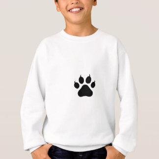 Tatzen-Druck Sweatshirt