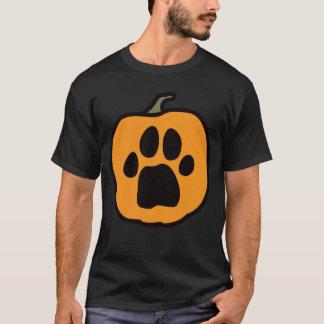 Tatzen-Kürbis-Dunkelheits-T - Shirt