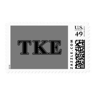 Tau-Kappa-Epsilon-gotische Schriften Briefmarke