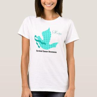 Taube der Hoffnung - aquamarines Band T-Shirt