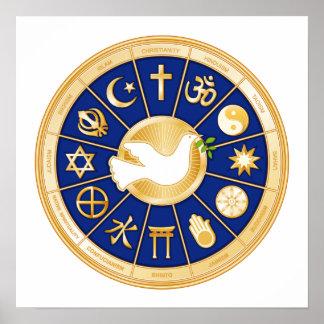 Taube des Friedens Poster