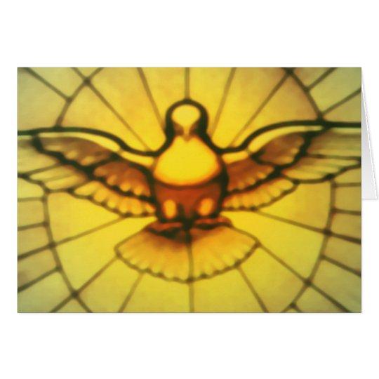 Taube des Heiliger Geist Karte