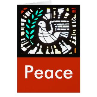 Taube -- Frieden und Liebe werden multipliziert Karte
