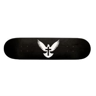 Taube mit Kreuz Bedruckte Skateboarddecks
