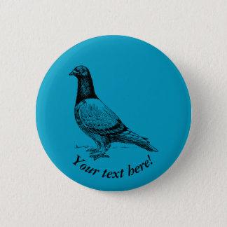 Taube Runder Button 5,1 Cm