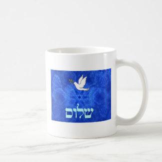 Taube - Shalom Kaffeetasse