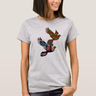 Tauben für FriedensT - Shirt-Entwurf Geschenkideen T-Shirt